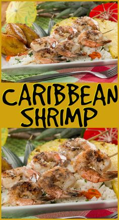 Spice things up with this flavorful Caribbean-style shrimp recipe that'll take you less than 10 minutes to whip up!