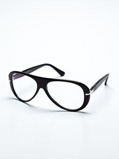 persol 80s aviator eyeglasses.