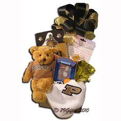 Bountiful boynton basket baskets pinterest chicago gifts baby boilmakers gift basket for purdue university fans negle Gallery