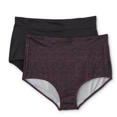Womens Set of 2 Jaclyn Smith Hipster Panties