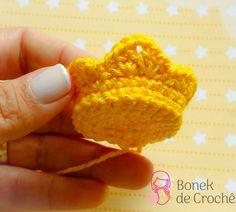 Amigurumi Tooth Making - Amigurumi - Kawaii Crochet, Love Crochet, Crochet Baby, Knit Crochet, Crochet Flower Patterns, Crochet Stitches Patterns, Amigurumi Patterns, Booties Crochet, Crochet Angels