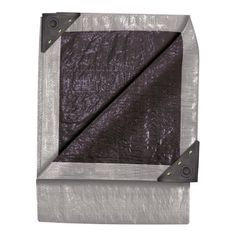 TEKTON 6312 10-Foot by 10-Foot Double Duty Tarp, Silver/Black by TEKTON. $19.94. From the Manufacturer                Three-Layer Construction of Specially Reinforced, Laminated, High-Density Polyethylene Fabric, Water, Rot, and Mildew-Resistant, Crack-Resistant to -20-Degree Fahrenheit, Rustproof Grommets on Each Corner and all Around hem, Poly Roping Sewn into Hem all Around for Extra Strength, Tough with Reinforced corners, All-Purpose Utility Covers, 14 x 14 Weave (20...