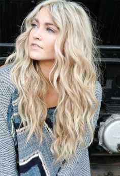 In the below article we will going to share with the readers some of the latest trends of long wavy hairstyles: