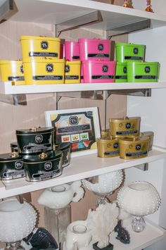 Tracy Stern Tea & Co from Palm Beach on display at etc. gifts | #SeagateGifts