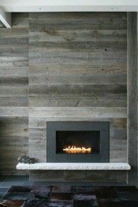Find this Pin and more on Hugmyndir fyrir heimili. 10 Fireplace Surrounds with Beautiful Wooden ...