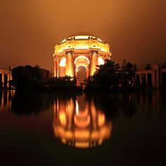 Palace of Fine Arts Before Dawn