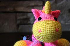 Unicorn/Horse by CongersCrochet on Etsy, $33.00