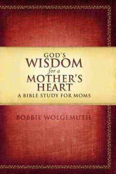 Never underestimate the importance of a godly mother. All mothers will benefit from this study that explores the many issues facing moms from a biblical perspective. God's Wisdom for a Mother's Heart: