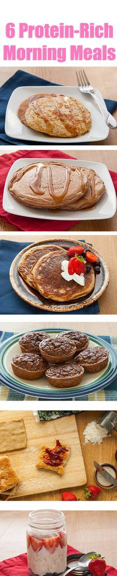 Add a healthy twist to even the most decadent desserts with these protein-rich recipes.   http://bodybuilding.7eer.net/c/58948/76783/2023?u=http://www.bodybuilding.com/fun/5-protein-packed-desserts.html
