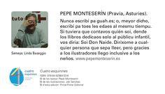 """""""Cuatro esquinines"""" - ISBN: 978-84-92964-53-6 © de los testos: Pepe Monteserín © de les ilustraciones: Job Sánchez © d'esta edición: Pintar-Pintar Editorial Editorial, Memes, Illustrations, Meme"""
