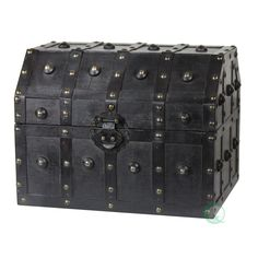 Quickway Imports Vintage Caribbean Pirate Chest