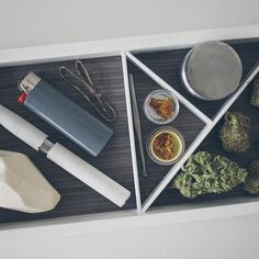 Today's essentials. #cannabis
