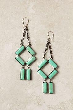 oriel chandelier earrings. beautiful.