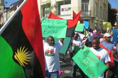"Top News: ""NIGERIA: Re-The Solving Of The Biafra Problem"" - http://www.politicoscope.com/wp-content/uploads/2015/06/Actualisation-Of-Sovereign-State-Of-Biafra-MASSOB-In-The-News-Now.jpg - For some reason, the fall of the Goodluck Jonathan's democratic government has brought about widespread discontent from Nigerians of South East extraction.  on Politicoscope - http://www.politicoscope.com/nigeria-re-thebiafra-problem/."