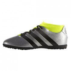 Deze @adidas #kunstgrasschoenen voor kinderen zijn geschikt voor kunstgras met een korte vezel. Dit is de #Ace 16.3 Primemesh TF.