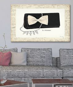 Another great find on #zulily! From Emily's Closet III Gallery-Wrapped Canvas #zulilyfinds