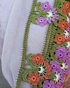 Crochet Edging Patterns, Crochet Borders, Needle Lace, Tatting, Needlework, Diy And Crafts, Crochet Earrings, Flowers, Blog