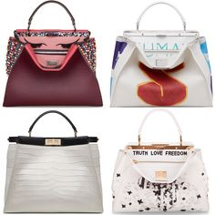 Fendi Taps Cara, Gwyneth & More for Custom It-Bag