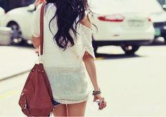 Hombros al aire #tendencias #moda #sexy #primavera #verano #look #almeria