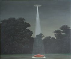 "Colin Brant. Something I Saw, 2007. Oil on canvas, 22 x 24""."