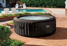 Are you looking for a cheap Intex Purespa Inflatable Hot Tub? These hot tubs have bubble jets that help you relax while you get pampered in your own garden spa. The Intex Purespa is easy to carry and comes with…Read more → Massage Spa, Massage Therapy, Inflatable Hot Tub Reviews, Bubble Spa, Fire Pit Reviews, Tubs For Sale, Spa Jets, Portable Spa, Jetted Tub