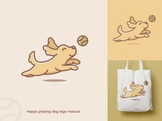 Liza Geurts   Dribbble Pug, Web Design, Graphic Design, Dog Logo, Freelance Designer, Of Brand, Brand Identity, Illustration, Funny