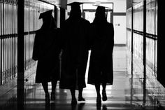 Cap and Gown Pictures, best friend cap and gown pictures, graduation pictures, gap and gown ideas, cap and gown silhouette