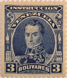 Venezuela Stamp - Simon Bolivar