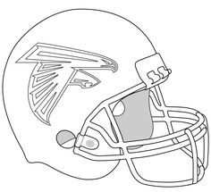 Football Helmet New York Giants Coloring Pages   Football ...