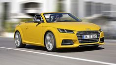 Audi TT given the roadster treatment
