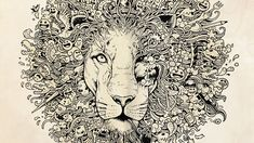 Intricate doodles by Filipino artist Kerby Rosanes. Check out amazing art by her and other professional doodlers, only on the #DailyFix! http://www.beautifulnow.is/bnow/truly-amazing-doodle-art-now