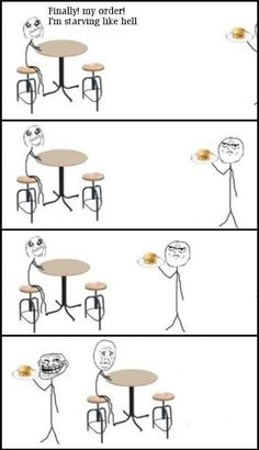 This actually has happened to me... *le sigh*