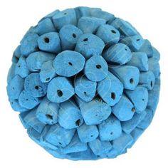 Cornflower Blue Baby Ball by Angel Aromatics | Decorative Balls I Available at  http://www.angelaromatics.com.au/scented-bowl-decorations/cornflower-blue-baby-paper-balls