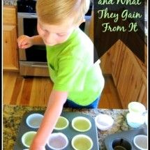 Cooking With Kids and What They Gain From It