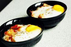 Søndagsmorgenmad: Æg en cocotte | Sidsel og Lasse