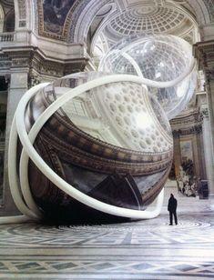 Le sculture gonfiabili monumentali di Klaus Pinter