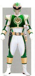 Hybrid Green-White Ranger by thedreaded1 on DeviantArt