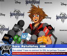 Sora and IGN by jojo56830