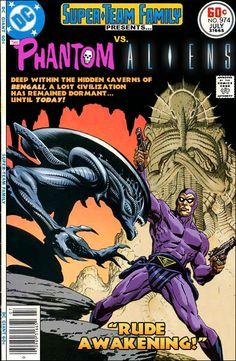 Super-Team Family: The Lost Issues!: The Phantom Vs. Aliens