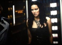 Catching Fire. Katniss in the elevator