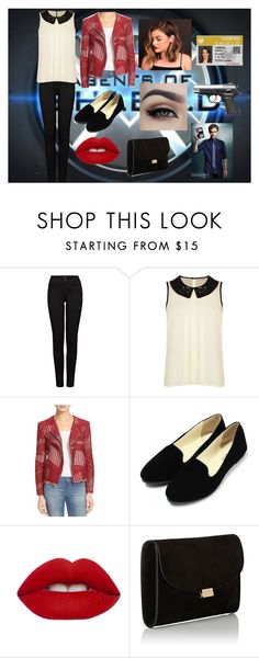 """""""Jemma Simmons"""" by alexhoran0720 on Polyvore featuring J Brand, Darling, IRO, Lime Crime, Mansur Gavriel and L'Agent By Agent Provocateur"""