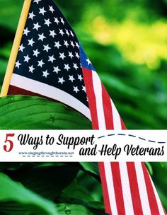 5 Ways to Support and Help Veterans - We all want to do our part for the men and women who have fought in wars and fell on hard times afterwards. But sometimes it's hard to know what you can do to help them best. Here are some top ideas that you could try and do to help veterans.