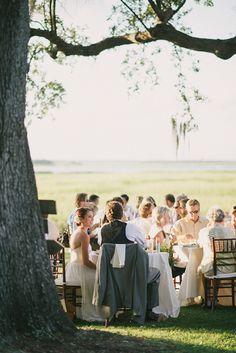 Sean Money + Elizabeth Fay | Snippet & Ink, Lowndes Grove, Charleston wedding, summer wedding, charleston wedding photographers, coastal, outdoor dinner reception