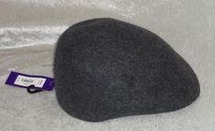 Apt 9 wool hat bowler cap solid charcoal grey men's size S/M NEW 16.99 http://www.ebay.com/itm/-/252401523320?