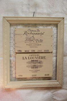 1000 images about caisse de vin recycl d co on pinterest - Caisse a vin decoration ...