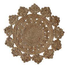 Anna III Decorative Natural Rug
