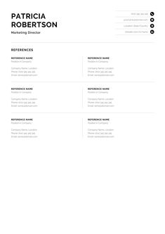 Professional 1 Page Resume Template Modern One Page CV Best Cv Template, One Page Resume Template, Modern Resume Template, Creative Resume Templates, Creative Cv, Google Docs, Cover Letter For Resume, Cover Letter Template, Letter Templates