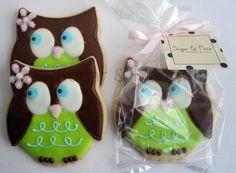 WHOO WHOO OWL Sugar Cookie Party Favors 1 Dozen by sugarandflour, $39.00