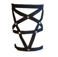 Pentagram Thigh Garter by RedMouth on Etsy, $28.00