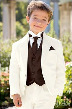Like a marroony red and off white color. Ring Bearer will most likley be Landen. Or Jett. It all depends.